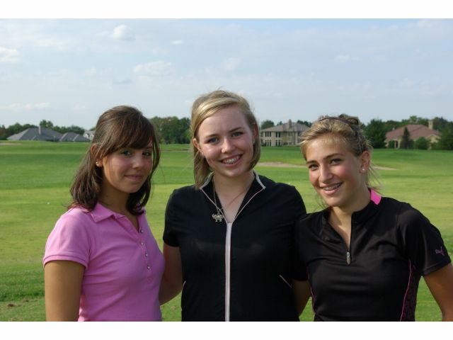 Caroline Wieland, Alexa Dusselier, and Pauline Laberthe Put the Barstow Girls Golf Program On the Map in the State of Missouri