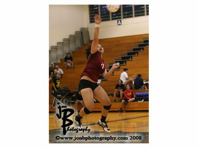 Photos: HHSAA Girls Volleyball DI Farrington defeats Kamehameha-Hawaii
