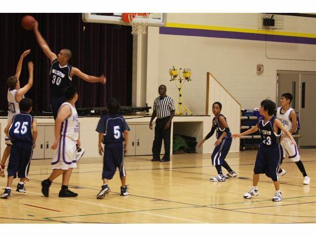 Saints Intermediate Boys Basketball 11-17-08