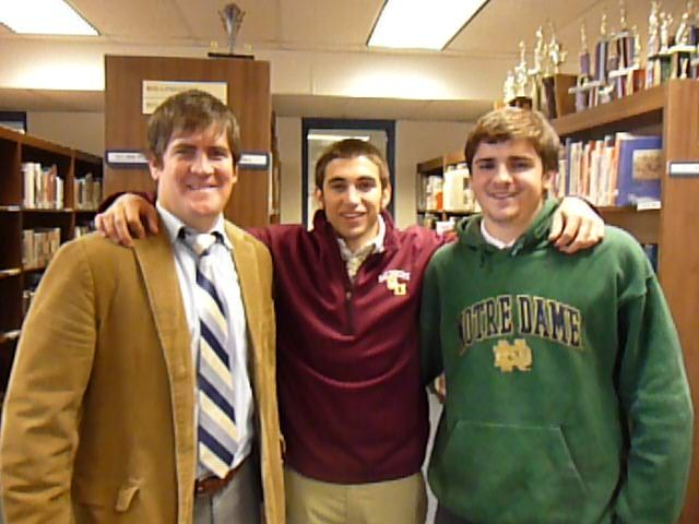 Lacrosse: College Signing: Notre Dame Duo