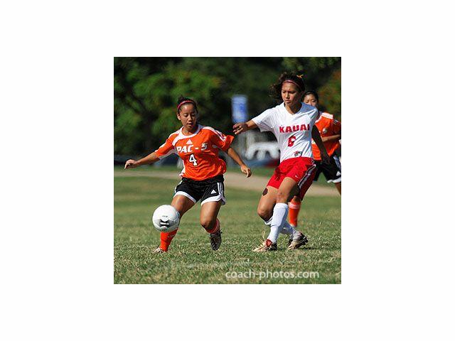 www.coach-photos.com Pac-Five defeated Kaua'i, 1-0. HHSAA Girls Soccer