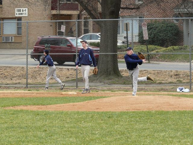 Yorktown at Washington-Lee -- Baseball -- March 25