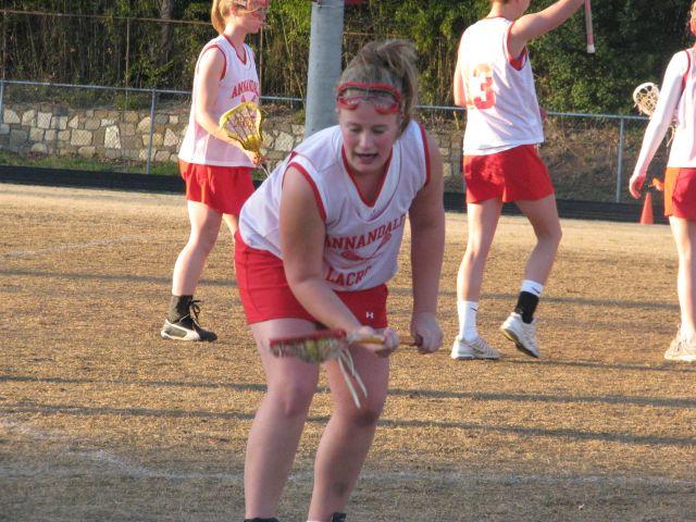 West Springfield vs. Annandale Girls' Lacrosse 3-30-09