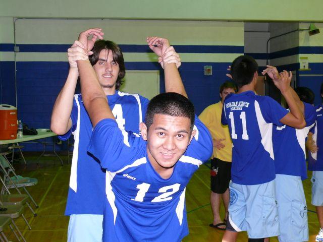 HawaiiDigitalSports.com ILH Volleyball Damien 2, Hawaiian Mission Academy 0