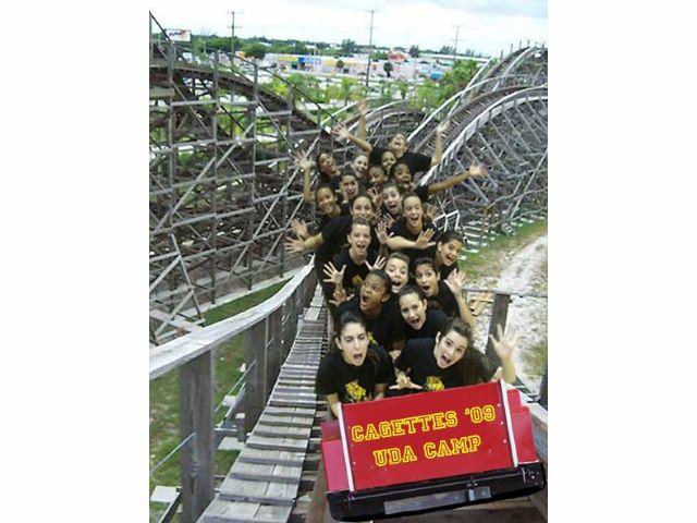 2009-2010 Cagette Dance Team