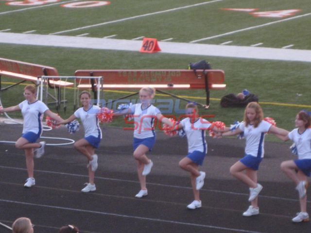 Central Middle School Dance Team- August 2009