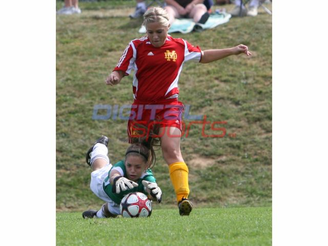Girls Soccer vs Bloomington South 9 - 19  2009