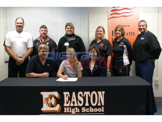 Easton Players Signing and in College Softball