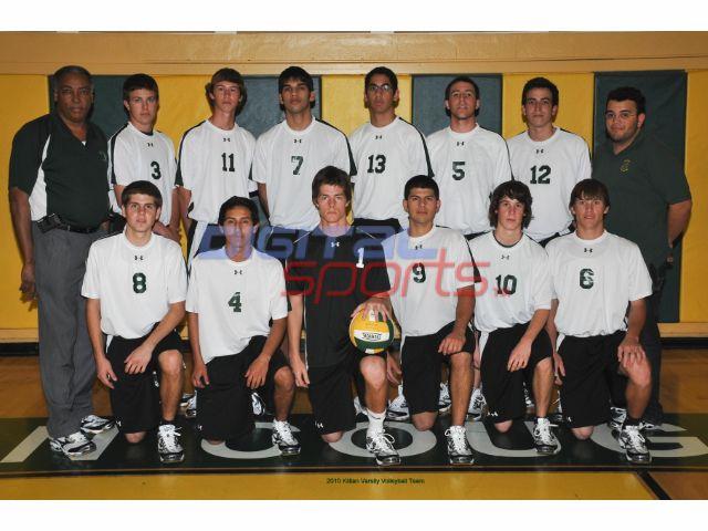 2010 Miami Killian Varsity Volleyball Team