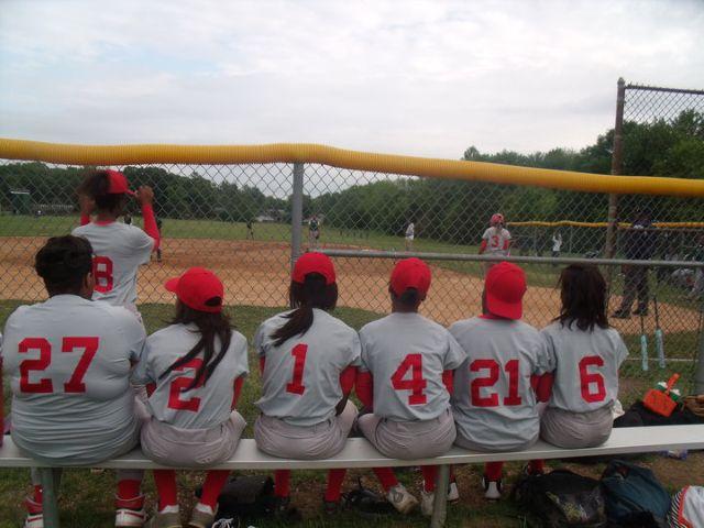 Girl Varsity Softball 2009-2010