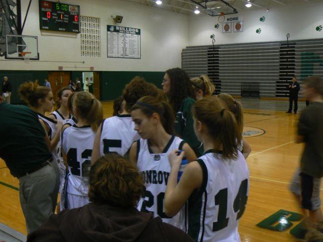Monrovia, reserve girls basketball
